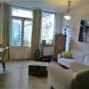 Charmante Wohnung mit Garten in München.